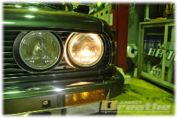 BMW E30 前期後付け装置で悩む。