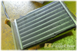 Heater core 小さなラジエーター