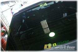BMW E30 M3 喋るリアガラス