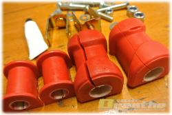 赤の、赤い補修用パーツ。