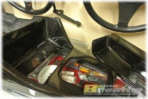 BMW E30 左ハンドル用カーボンセンターコンソールset