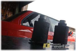 BMW E30 カブリオレ リアブッシュの交換