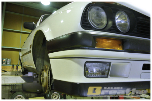 "BMW E30 GARAGE BREATHE ""THANK YOU REPEATEDLY 白4"""