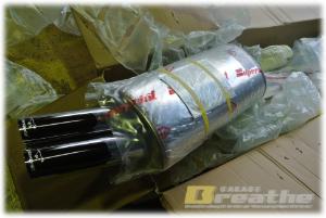 リアマフラー for E30 M20