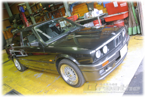"BMW E30 GARAGE BREATHE ""THANK YOU REPEATEDLY VOL.115 FROM KAMAKURA"""